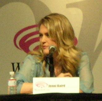 Jenni Baird - Baird features at Wondercon on behalf of the movie Alien Trespass