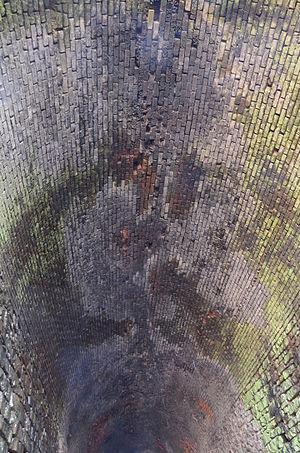 Jenson Tunnel - Detail of Jenson Tunnel ceiling in 2015.
