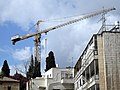 Jerusalem Strauss street Construction site.jpg