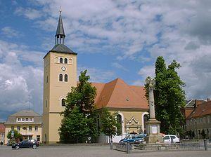 Wittenberg (district) - Image: Jessen church