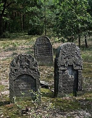 Przytyk pogrom - Image: Jewish cemetery Przytyk IMGP7857