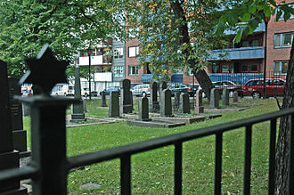 History of the Jews in Norway - Jewish cemetery in Sofienberg, Oslo