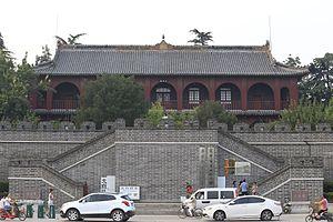 Jining - Image: Jining Taibai Lou 2015.08.13 18 00 36