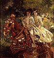 Joaquin Sorolla y Bastida 1863 - 1923 Grupa valenciana Óleo sobre lienzo 200 5 x 187 cm Museo de Bellas Artes de Valencia.JPG