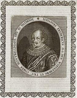 John Frederick, Duke of Württemberg