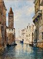 Johann Gottfried Steffan Venedig Rio San Barnaba.jpg