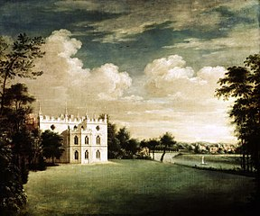 Strawberry Hill, Twickenham, from the South