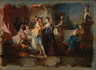 The Prodigal Son Living with Harlots