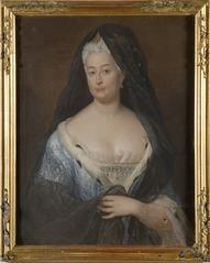 Portrait of Princess Johanna Charlotte of Anhalt-Dessau