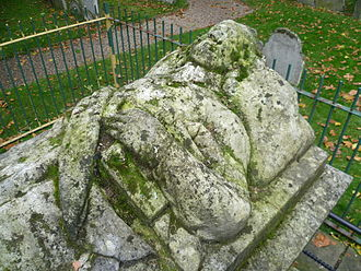 John Bunyan - Bunyan's effigy on his grave in Bunhill Fields