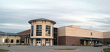John H. Guyer High School building 3.jpg