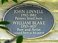 John Linnell 1792-1882 painter lived here. William Blake 1757-1827 poet and artist stayed here as his guest (2).jpg