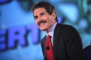 Stossel (TV series) - Stossel during a live taping of the show