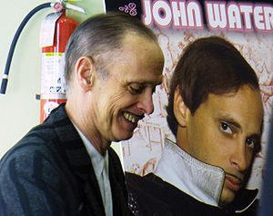 John Waters in New York City at the Chelsea Ba...