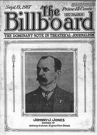 Johnny J. Jones - Johnny J. Jones, The Billboard, 1917