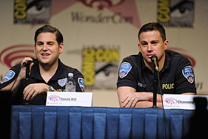 21 Jump Street (film) - Hill and Tatum promoting the film in costume at WonderCon 2012 in Anaheim, California