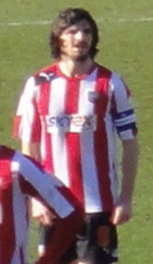 Jonathan Douglas - Douglas playing for Brentford in 2013.