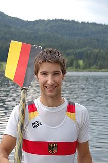 Jonathan Koch (rower) German rower