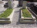 Joncourt (Aisne) tombes de de guerre de la Commonwealth War Graves Commission u cimetière communal.JPG