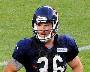 Jordan Lynch - Lynch at Bears training camp in 2014