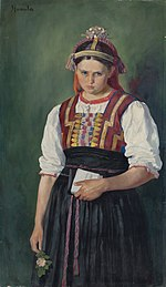 Jozef Hanula - Za frajerom - O 100 - Slovak National Gallery.jpg