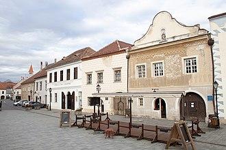 Kőszeg - Image: Juirisics Square, Kőszeg, 2016 03 06 3