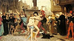 Le supplice des adultères by Jules Arsene Garnier