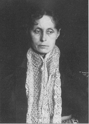 Julia Christiansen Hoffman - Self-portrait, 1885