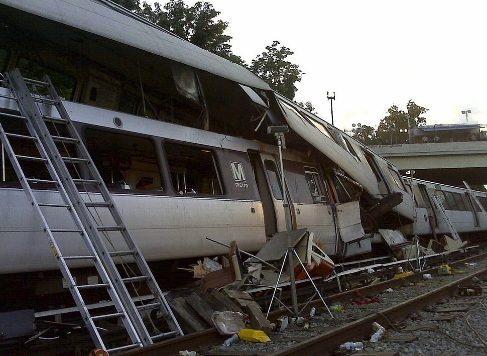 June 22, 2009 WMATA Collision - NTSB accident photo 422860