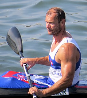 Juraj Tarr Canoe racer