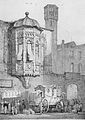 Köln, Prager Hof, Neumarkt 10 1824 Lithographie nach S. Prout.jpg