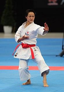 Kiyou Shimizu Japanese karateka