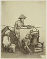KITLV 26586 - Isidore van Kinsbergen - Street vendor in Batavia - Around 1870.tif