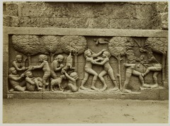 KITLV 28041 - Kassian Céphas - Relief of the hidden base of Borobudur - 1890-1891.tif