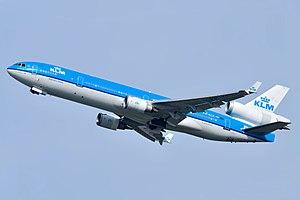 McDonnell Douglas MD-11 - Image: KLM Mc Donnell Douglas MD 11 PH KCK Ingrid Bergman