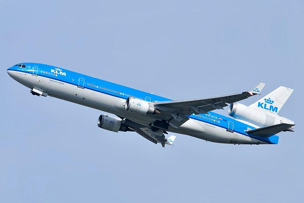KLM McDonnell Douglas MD-11 PH-KCK Ingrid Bergman