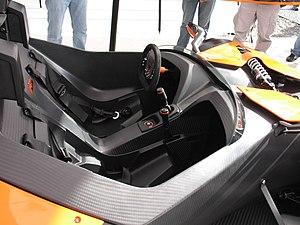 KTM X-Bow - The X-Bow's cockpit