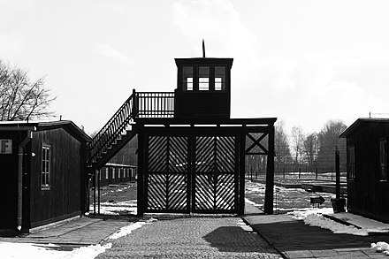 Stutthof concentration camp set up in September 1939; the first Nazi facility of its kind built outside of Germany; eventually 65,000 Polish prisoners died in the camp KZSHOF.jpg