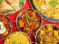 Kadhai Paneer with Sasmosa and curry,pulao,aloo,rajma.jpg