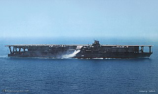 Japanese aircraft carrier <i>Kaga</i> Aircraft carrier of the Imperial Japanese Navy