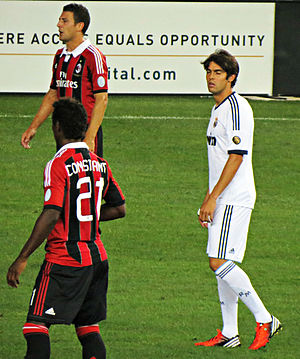 Kévin Constant - Constant playing for Milan against Real Madrid in 2012.