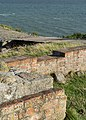 Kalø Slotsruin (Syddjurs Kommune).Mur og bro.125359.ajb.jpg
