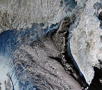 Sentinel-3 - Image: Kamchatka, Russia ESA374357