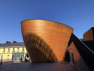 Kamppi Chapel Church in Helsinki, Finland