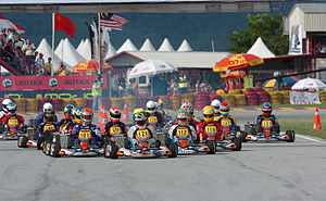 Rotax Max Challenge - The start of the race