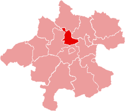 Bezirk Eferding location map