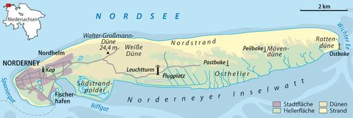 Frühling auf Norderney genießen