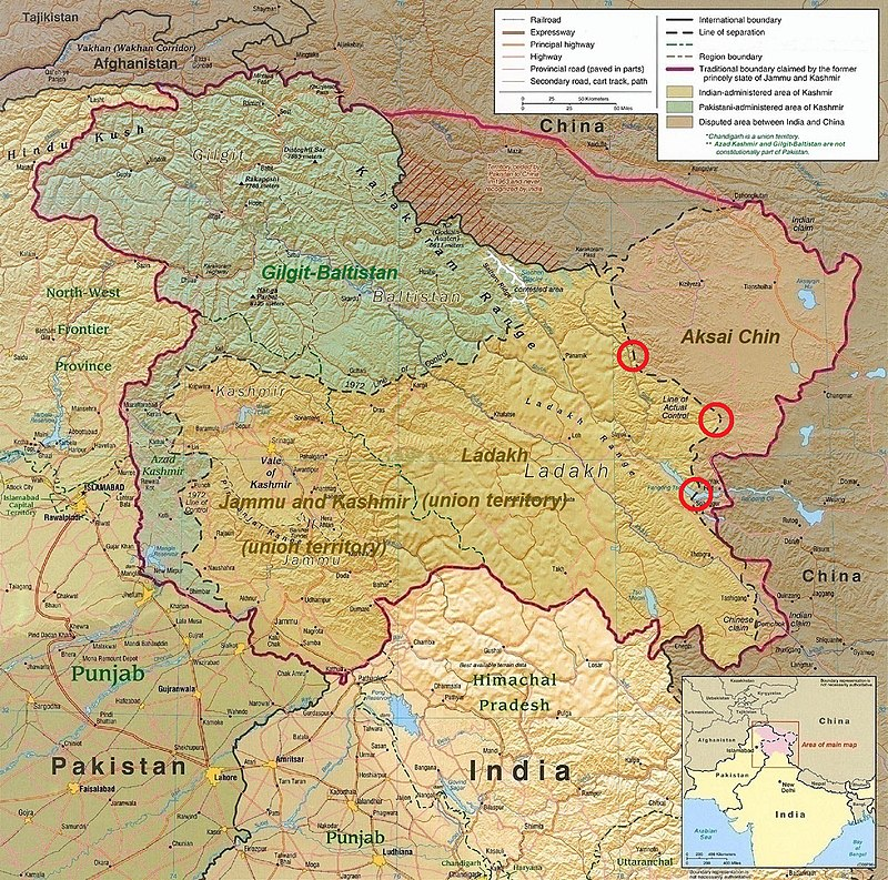 Kashmir Region (2020 skirmish locations).jpg