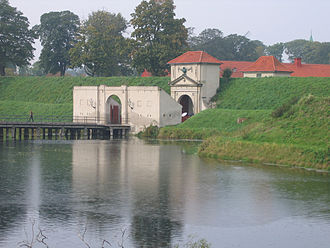 Kastellet, Copenhagen - Outside view of the King's Gate