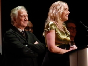 A Little Chaos - Winslet and Rickman at the screening of the film at the 2014 Toronto International Film Festival.